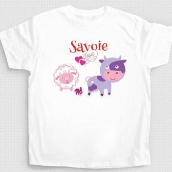 T-shirt les animaux de nos fermes