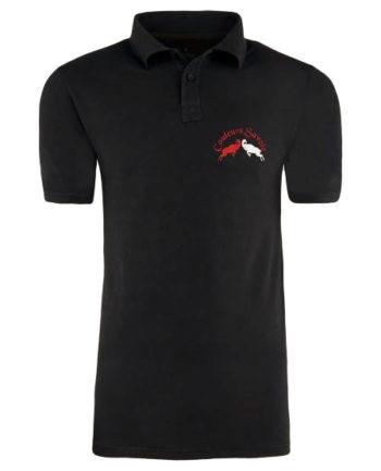 polo sport noir couleurs savoie