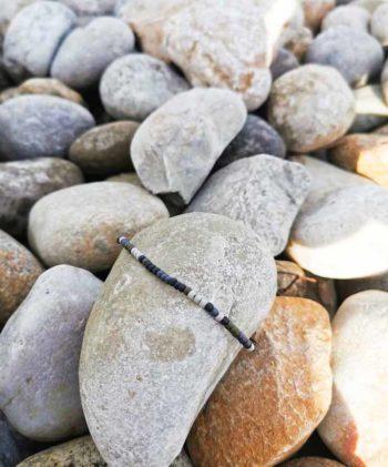 bracelet homme code morse