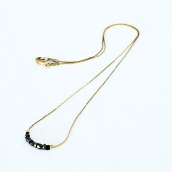 collier perles bohème